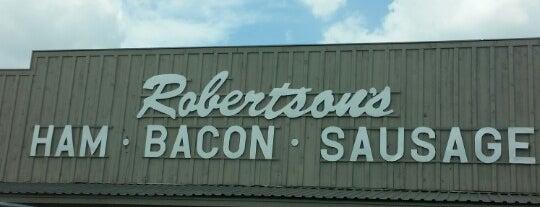 Robertson's Hams is one of สถานที่ที่ Joni ถูกใจ.