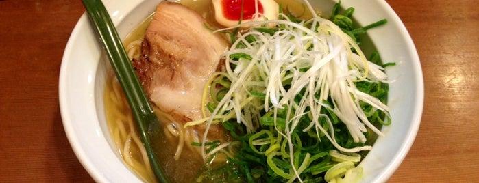 麺屋はなぶさ is one of 尊師ミシュラン大阪版.