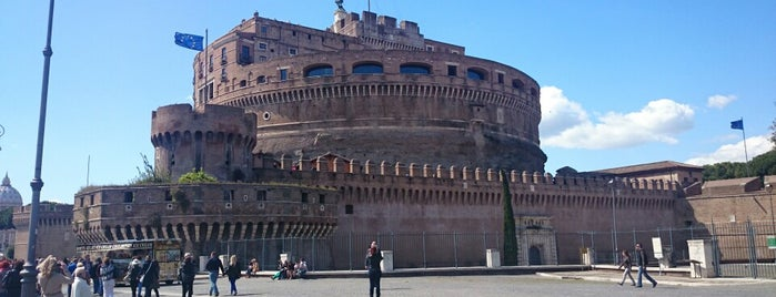 Castel Sant'Angelo is one of ROME.