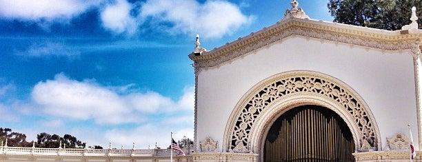 Spreckels Organ Pavilion is one of San Diego Sights.