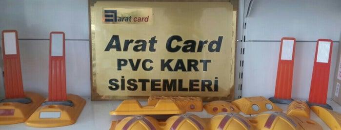 Arat Kart & Otomasyon Sistemleri is one of Orte, die Yunus gefallen.
