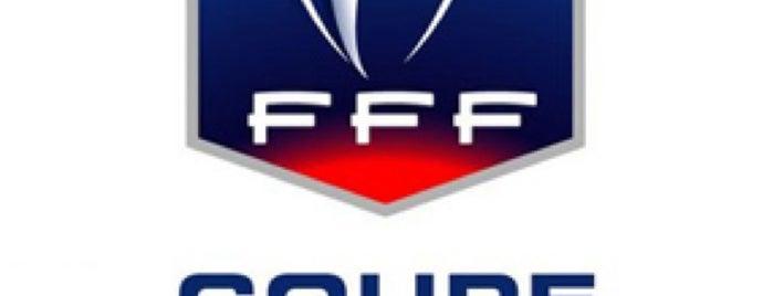 Stade de France is one of Tempat yang Disimpan hanibal.