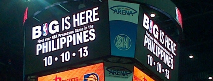 Mall of Asia Arena is one of Epic!.