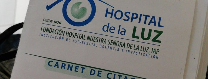 Hospital Nuestra Señora de la Luz is one of Fersh'in Beğendiği Mekanlar.