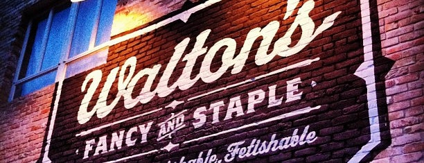 Walton's Fancy and Staple is one of Austin.