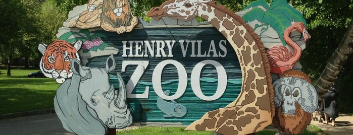 Henry Vilas Zoo is one of Madison.