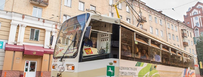 Трамвай № 1 is one of Lugares favoritos de Vladimir.