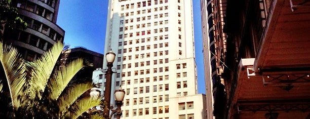 Edifício Altino Arantes (Banespa) is one of São Paulo ABC, Bares/Cafés, Restaurantes Shoppings.