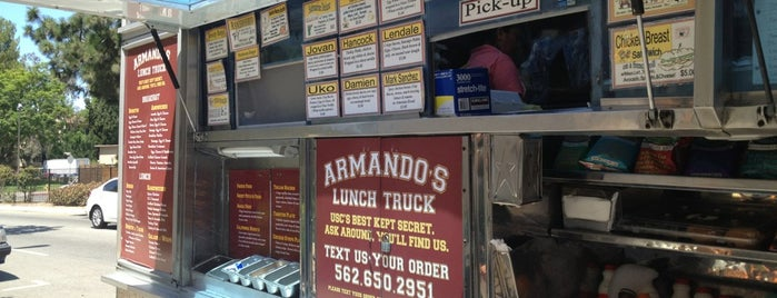 Armando's Lunch Truck is one of favorites.