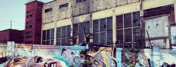 Граффити-стена is one of СПб. Необычные места.
