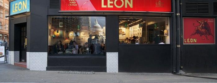 Leon is one of Tempat yang Disukai Sonia.
