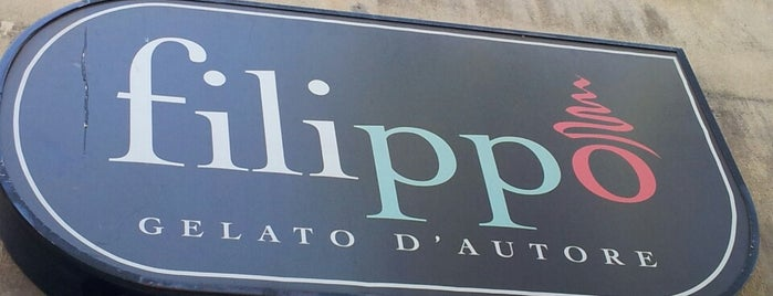 Helados Filippo is one of Café.