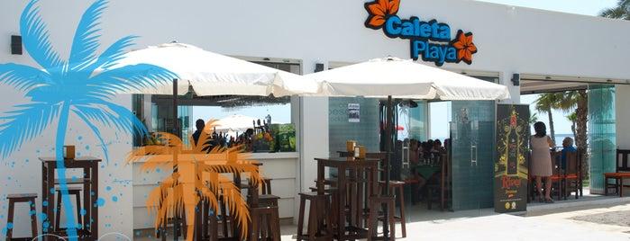 Caleta Playa is one of Malaga to do.