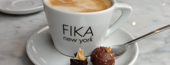 FIKA is one of Working/studying cafes.