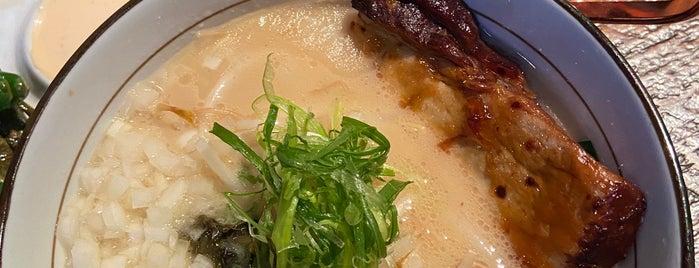 Shinka Ramen & Sake Bar is one of Tempat yang Disimpan Guha.