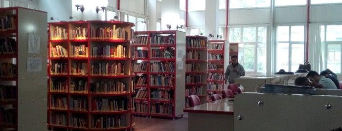 Cebeci Halk Kütüphanesi is one of Kütüphane.