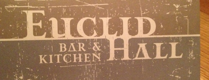 Euclid Hall Bar & Kitchen is one of Denver/Breck Trip 2016.
