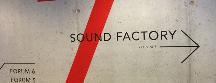 Sound Factory - Lantaarntoren is one of Locais salvos de Oliver.