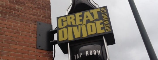 Great Divide Brewing Co. is one of Denver.