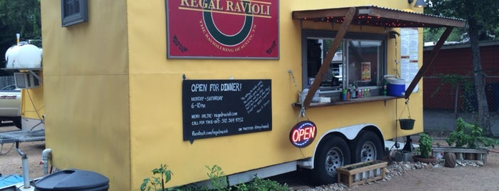 Regal Ravioli is one of TV Food Spots: Austin Metro Area.
