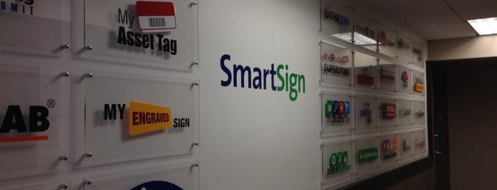 SmartSign is one of Silicon Alley, NYC (List #2).
