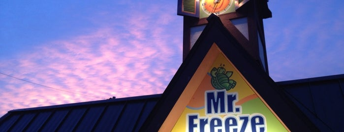 Mr. Freeze is one of Tempat yang Disimpan Jessica.