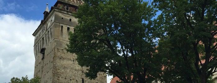 Biserica fortificată Saschiz is one of UNESCO World Heritage Sites in Eastern Europe.