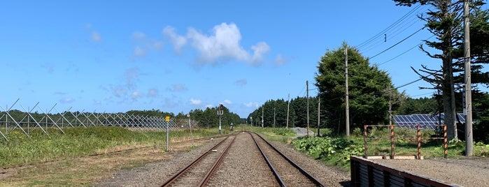 落石駅 is one of JR 홋카이도역 (JR 北海道地方の駅).