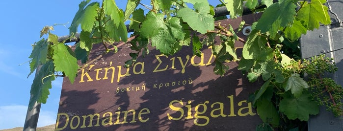 Domaine Sigalas is one of Greece Highlights.