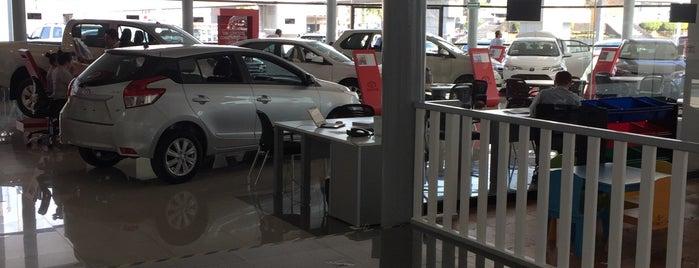 Toyota is one of Joaquin: сохраненные места.