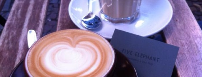 Five Elephant is one of Roel's Recommendations: Berlin.
