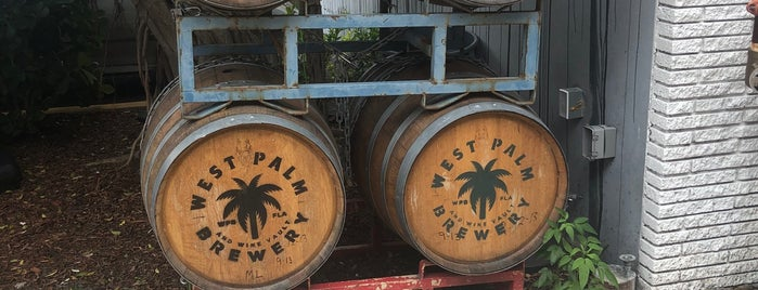 West Palm Brewery & Wine Vault is one of Hollywood, FL.