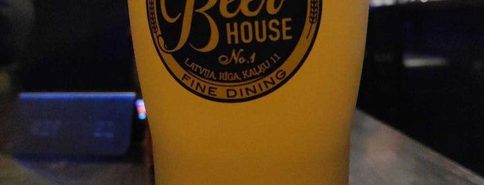 Beer House No. 1 is one of Irina 님이 좋아한 장소.