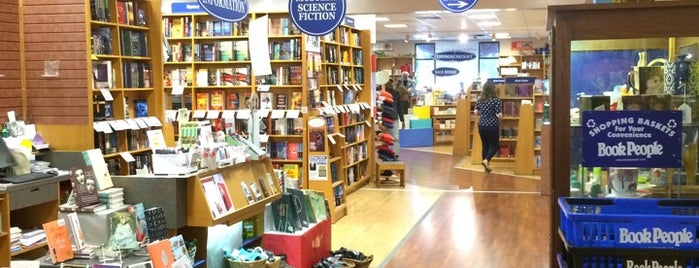 BookPeople is one of Fore! A Course of Austin's Best (and Weirdest).