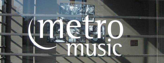 Metro Music is one of Orte, die Myke gefallen.