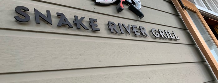 Snake River Grill is one of New American.