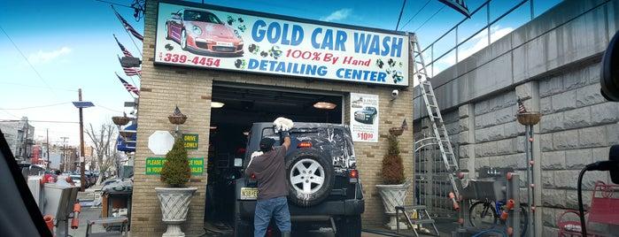 Gold Car Wash is one of สถานที่ที่ Claudia ถูกใจ.