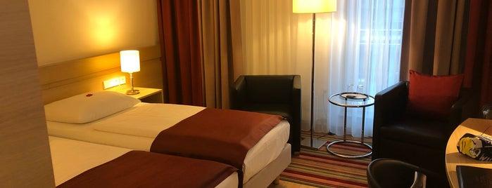 Hotel Stadt Freiburg is one of Tempat yang Disukai Amit.