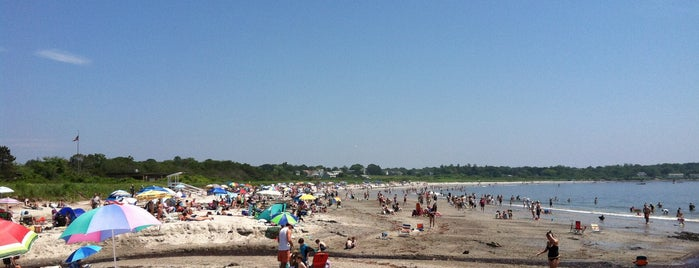 Crescent Beach State Park is one of Maine.