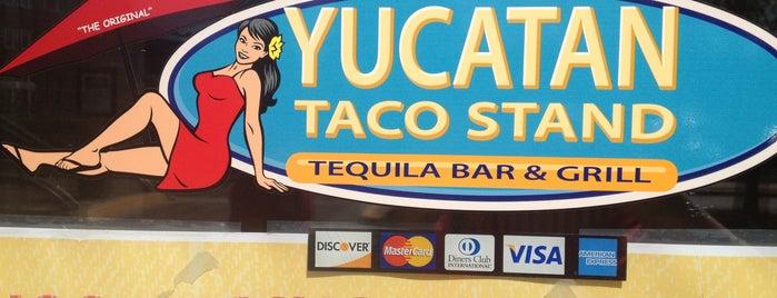 Yucatan Taco Stand is one of Lieux qui ont plu à Mat.