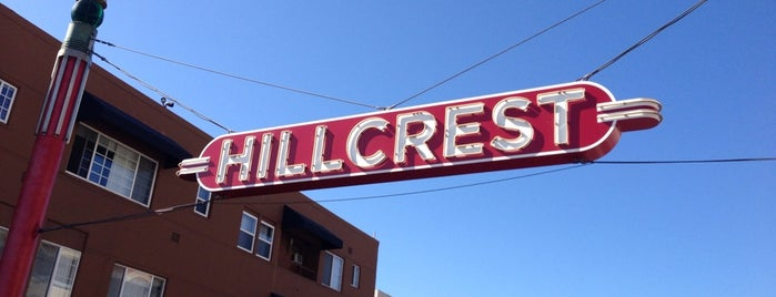 Hillcrest Sign is one of Tempat yang Disukai Paul.