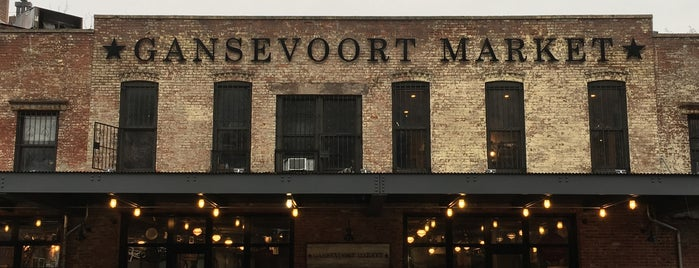 Gansevoort Market is one of Lugares favoritos de IrmaZandl.