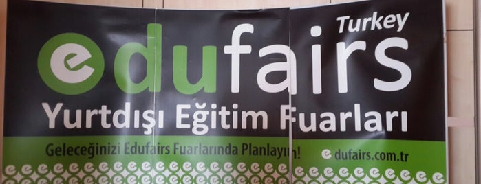 Edufairs The Marmara Taksim is one of Lieux qui ont plu à Ayşe.