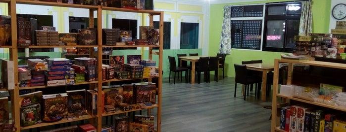 卡卡城 Cacacity is one of 桌遊店和俱樂部 Board game shops/cafes in Taipei.