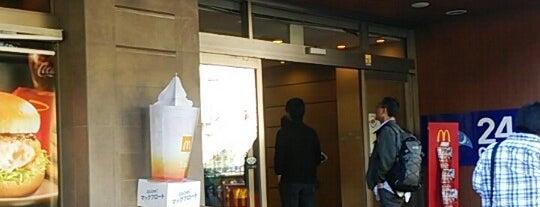 マクドナルド 岩本町店 is one of 電源.
