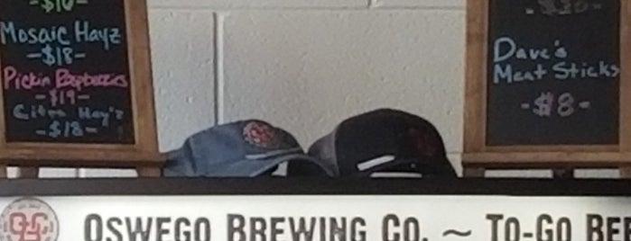 Oswego Brewing Co. is one of Nicoleさんのお気に入りスポット.