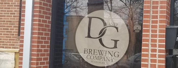 D And G Brewing is one of Chicago area breweries.