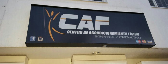 CAF Centro de Acondicionamiento Físico is one of Mauricioさんのお気に入りスポット.