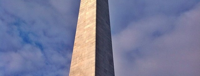 Bunker Hill Monument is one of Boston.