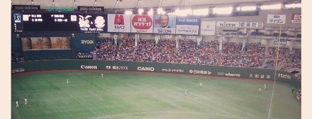 Tokyo Dome is one of All Things Sporting Venues....